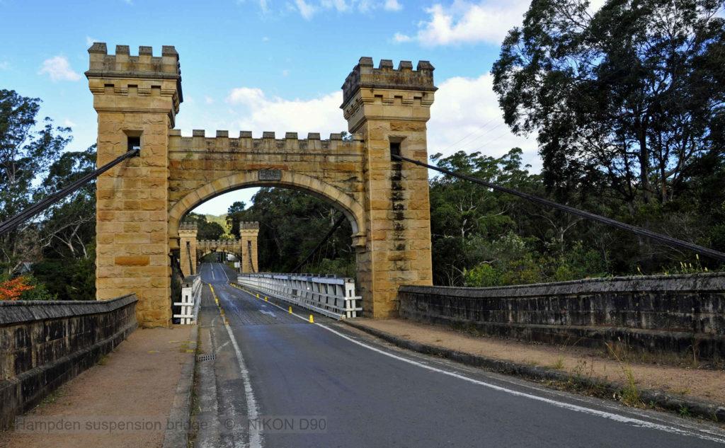 Hampton Bridge in the Kangaroo Valley on our South Coast Private Tour