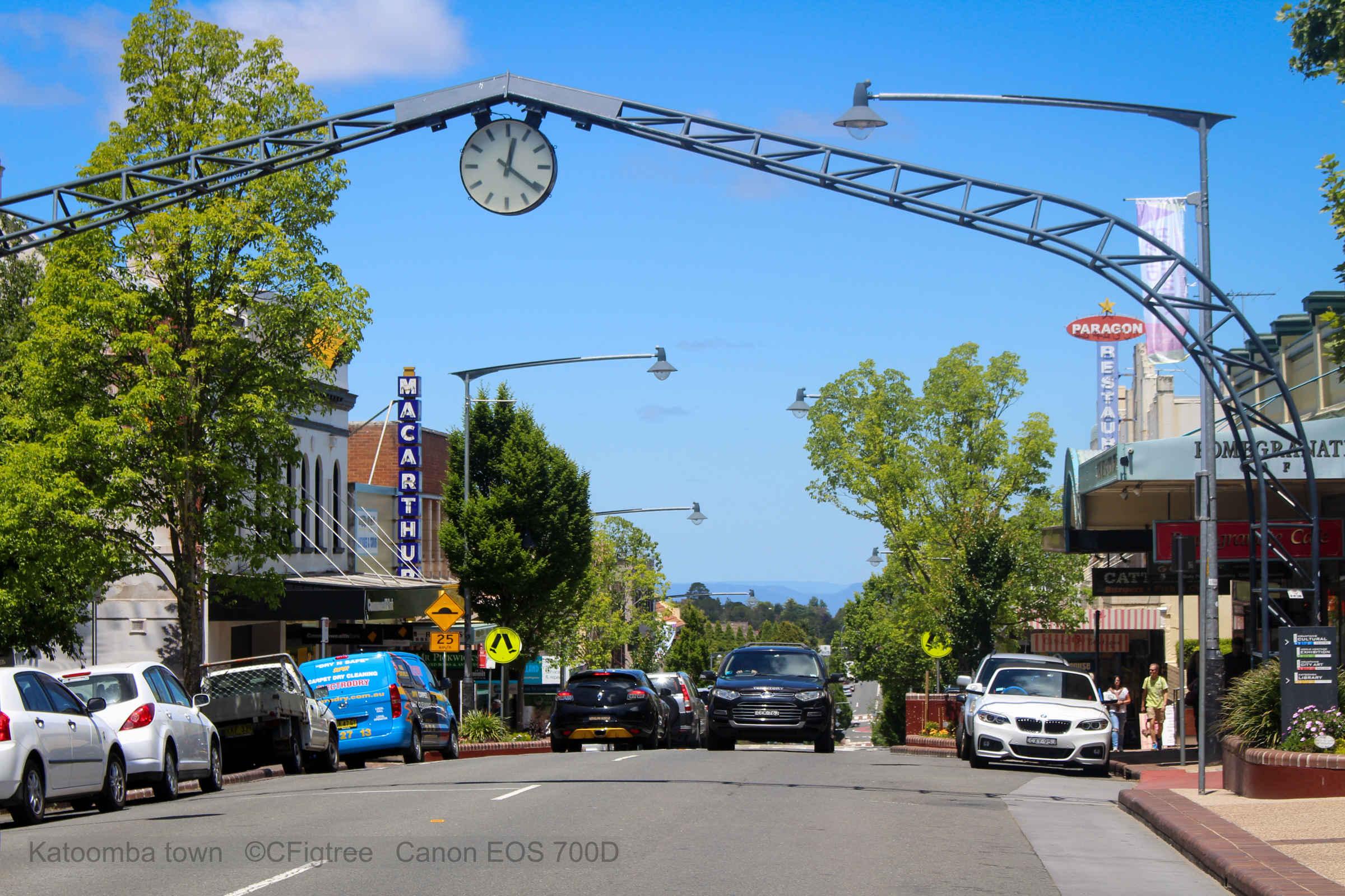 Katoomba the Blue Mountains
