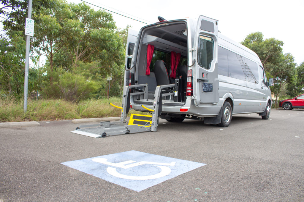 Sprinter Travel with wheel chair access