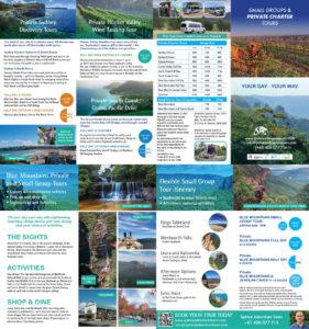 Sydney Adventure Tours 2021 Brochure